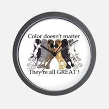 N6 Color Doesn't Matter Wall Clock