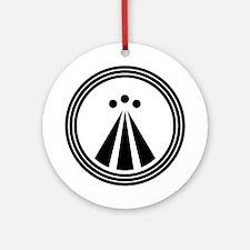 Druid Symbol Ornament (Round)