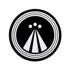 "Druid Symbol 3.5"" Button"