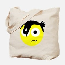 emo smiley Tote Bag