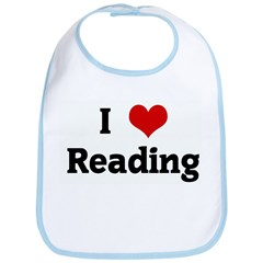 I Love Reading Bib