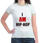 I Am Hip-Hop Jr. Ringer T-Shirt
