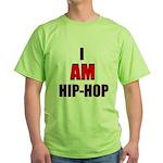 I Am Hip-Hop Green T-Shirt
