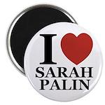 I Love Palin Magnet