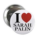 """I Love Palin 2.25"""" Button"""