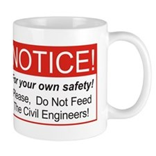 Notice / Civil Eng. Mug