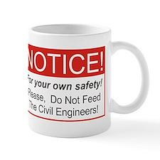Notice / Civil Eng. Small Mug