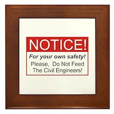 Notice / Civil Eng. Framed Tile