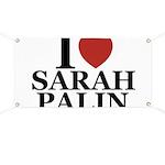 I Love Palin Banner