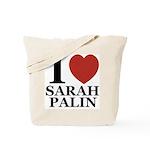 I Love Palin Tote Bag
