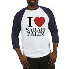 I Love Palin Baseball Jersey