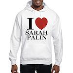I Love Palin Hooded Sweatshirt