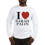 I Love Palin Long Sleeve T-Shirt