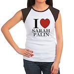 I Love Palin Women's Cap Sleeve T-Shirt