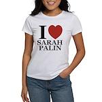 I Love Palin Women's T-Shirt