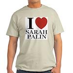 I Love Palin Light T-Shirt