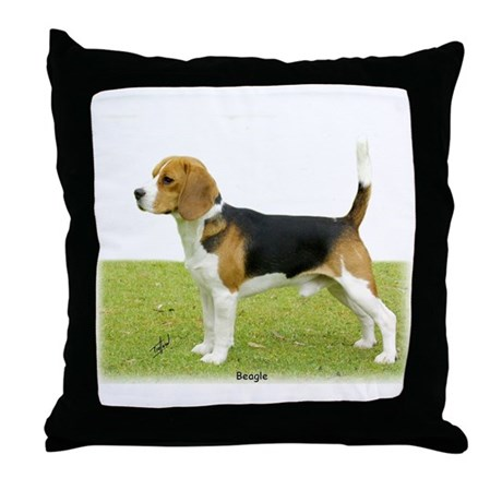 Beagle 9J27D-02 Throw Pillow