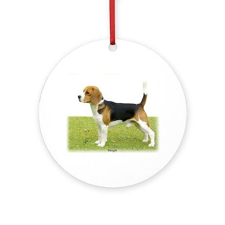 Beagle 9J27D-02 Ornament (Round)