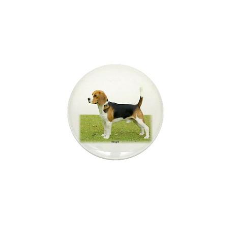 Beagle 9J27D-02 Mini Button (10 pack)