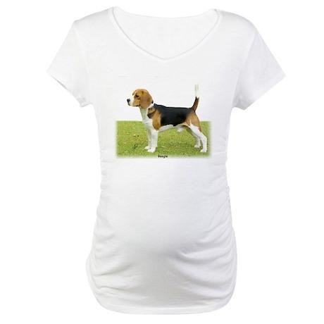 Beagle 9J27D-02 Maternity T-Shirt