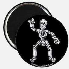 "ILY SkeletonBlack 2.25"" Magnet (10 pack)"