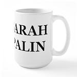 I Love Palin Large Mug