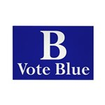 B: Vote Blue (100 Refrigerator Magnets)