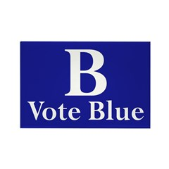 B: Vote Blue (10 Refrigerator Magnets)