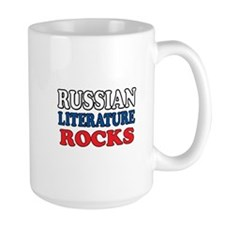 Russian Lit Rocks Mug