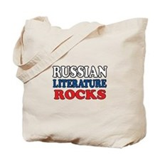 Russian Lit Rocks Tote Bag