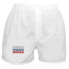 Russian Lit Rocks Boxer Shorts