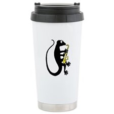 Gecko Saxophone Travel Mug