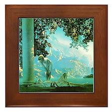 Maxfield Parrish Daybreak Framed Tile