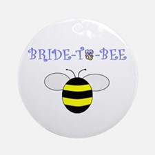 BRIDE-TO-BEE Ornament (Round)