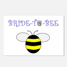BRIDE-TO-BEE Postcards (Package of 8)