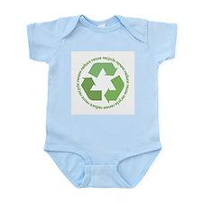 Recycle Symbol Infant Bodysuit