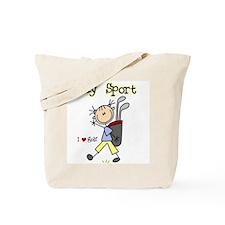 Golf My Sport Tote Bag