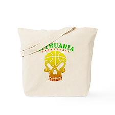 Lithuania Basketball Tote Bag