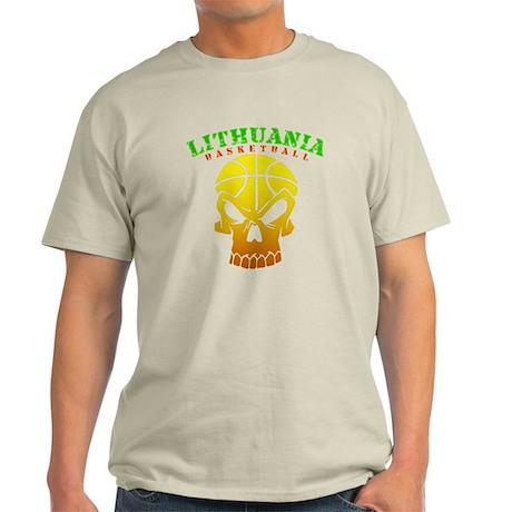 Lithuania Basketball Light T-Shirt