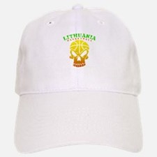 Lithuania Basketball Baseball Baseball Cap