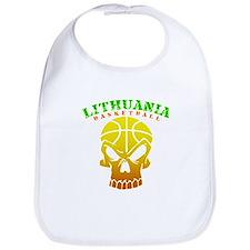 Lithuania Basketball Bib