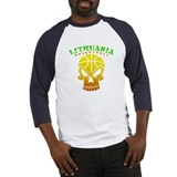 Lithuania Baseball Tee
