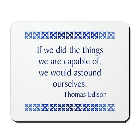 Edison Mousepad