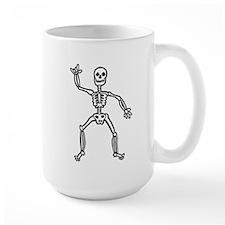 ILY Skeleton Mug