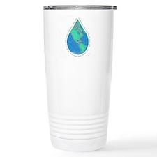 Water Drop Earth Travel Mug