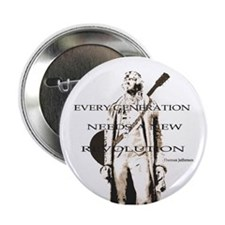 "Thomas Jefferson Revolution 2.25"" Button"