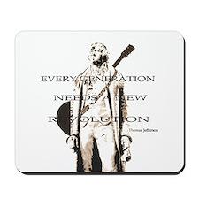 Thomas Jefferson Revolution Mousepad