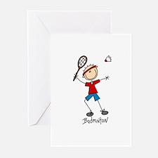 Badminton Greeting Cards (Pk of 10)