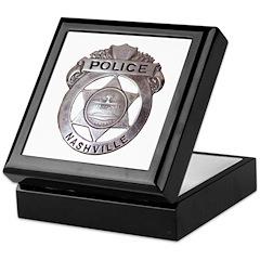Nashville Police Keepsake Box