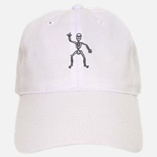 ILY Skeleton Baseball Baseball Cap